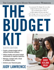 The Budget Kit (The Common Cents Money Management Workbook) by Judy Lawrence, 9781607148609