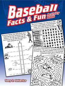 Baseball Facts & Fun Activity Book by Tony J. Tallarico, 9780486814421