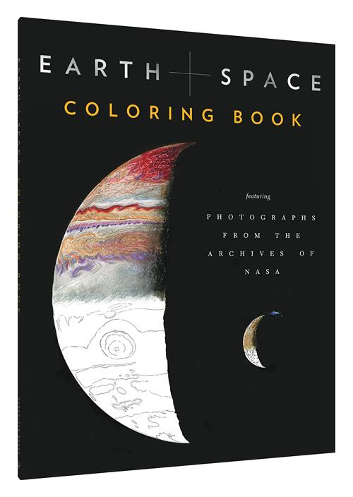 Earth and Space Coloring Book (Featuring Photographs from the Archives of NASA (Adult Coloring Books, Space Coloring Books, NASA Gifts, Space Gifts for Men)) by Chronicle Books, NASA, 9781452160641