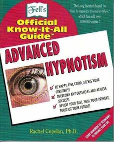 Advanced Hypnotism (Advanced Hypnotism Techniques) by Marianne Pilgrim Calabrese, 9780883910603