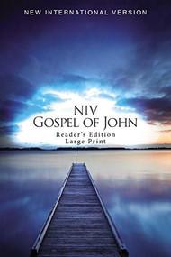 NIV, Gospel of John, Reader's Edition, Large Print, Paperback by  Zondervan, 9780310446026