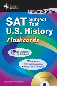 SAT Subject Test™: U.S. History Flashcards with CD by Mark Bach, 9780738607054