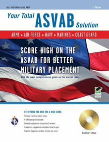 ASVAB w/CD-ROM 7th Ed. (Your Total Solution) by Wallie Walker-Hammond, 9780738606439