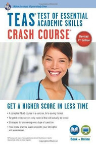 TEAS Crash Course Book + Online by Daniel Greenberg, 9780738611853