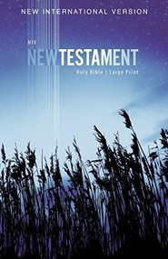 NIV, Outreach New Testament, Large Print, Paperback by  Zondervan, 9780310446439