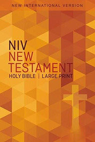 NIV, Outreach New Testament, Large Print, Paperback - 9780310446422 by  Zondervan, 9780310446422