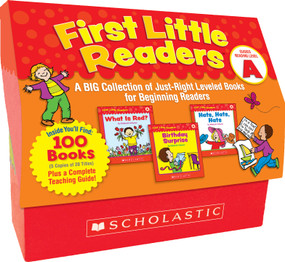 First Little Readers: Guided Reading Level A (Classroom Set) (A Big Collection of Just-Right Leveled Books for Beginning Readers) by Deborah Schecter, 9780545223010
