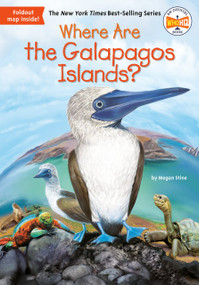Where Are the Galapagos Islands? by Megan Stine, Who HQ, John Hinderliter, 9780451533876