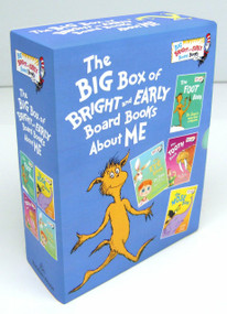 The Big Box of Bright and Early Board Books About Me (The Foot Book by Dr. Seuss; The Eye Book by Dr. Seuss; The Tooth Book by Dr. Seuss; The Nose Book by Al Perkins) by Dr. Seuss, 9780553536294