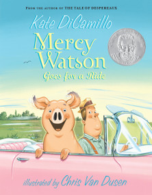 Mercy Watson Goes for a Ride - 9780763645052 by Kate DiCamillo, Chris Van Dusen, 9780763645052