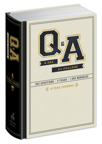 Q&A a Day for College (4-Year Journal) (Miniature Edition) by Potter Gift, 9780804185684