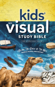 NIV Kids' Visual Study Bible, Hardcover, Full Color Interior (Explore the Story of the Bible---People, Places, and History) by  Zondervan, 9780310758600