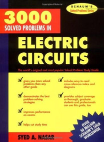 3,000 Solved Problems in Electrical Circuits by Syed A. Nasar, 9780070459366