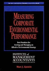 MEASURING CORP ENVIRONMENTAL P by Marc Epstein, 9780786302307