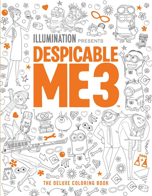 Despicable Me 3: The Deluxe Coloring Book by Insight Editions, 9781683830801