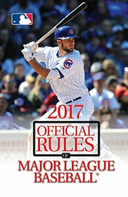2017 Official Rules of Major League Baseball (Miniature Edition) by Triumph Books, 9781629373539
