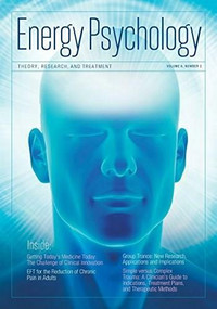 Energy Psychology Journal, 6:2 by Dawson Church, 9781604151305