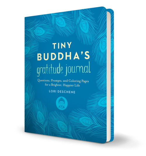 Tiny Buddha's Gratitude Journal (Questions, Prompts, and Coloring Pages for a Brighter, Happier Life) by Lori Deschene, 9780062681263