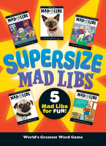 Supersize Mad Libs by Mad Libs, 9781524785062