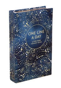 Celestial One Line a Day (Blank Journal for Daily Reflections, 5 Year Diary Book) (Miniature Edition) by Yao Cheng, 9781452164601