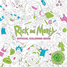 Rick and Morty Official Coloring Book by Titan Books, 9781785655623