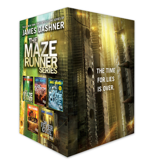 The Maze Runner Series Complete Collection Boxed Set (5-Book) by James Dashner, 9781524771034