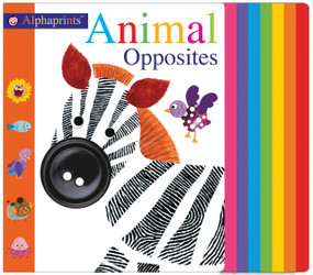 Alphaprints: Animal Opposites by Roger Priddy, 9780312524968