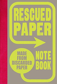 Rescued Paper Notebook, hardcover by Sukie, 9781452150079
