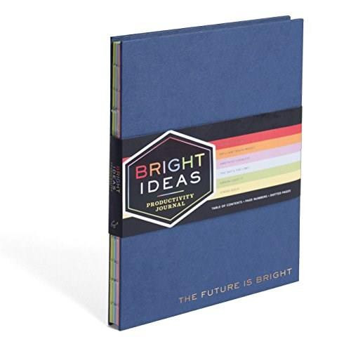 Bright Ideas Productivity Journal ((Productivity Planner Journal, Self Help Journals, Activity Journals)) by Chronicle Books, 9781452165172