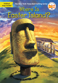 Where Is Easter Island? by Megan Stine, Who HQ, John Hinderliter, 9780515159486