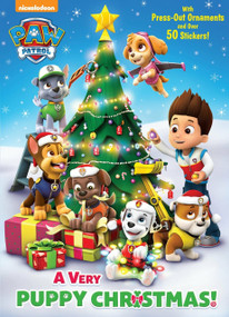 A Very Puppy Christmas! (PAW Patrol) by Golden Books, MJ Illustrations, 9780399553561
