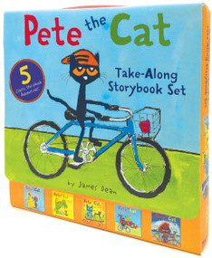 Pete the Cat Take-Along Storybook Set (5-Book 8x8 Set) by James Dean, James Dean, Kimberly Dean, 9780062404473