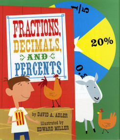 Fractions, Decimals, and Percents - 9780823423545 by David A. Adler, Edward Miller, 9780823423545