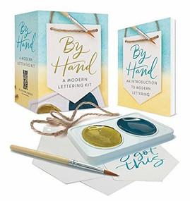 By Hand (A Modern Lettering Kit) (Miniature Edition) by Nicole Miyuki Santo, 9780762463404