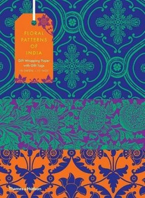 Floral Patterns of India: 10 Sheets of Wrapping Paper with 12 Gift Tags by Henry Wilson, 9780500420867