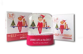 The Elf on the Shelf Snow Globe (Miniature Edition) by Running Press, 9780762462889