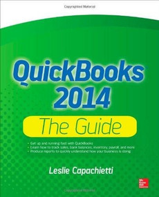 QuickBooks 2014 The Guide by Leslie Capachietti, 9780071823395