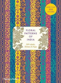 Floral Patterns of India: Gift Labels, Stickers and Tape by Henry Wilson, 9780500420874