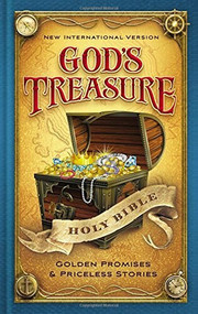 NIV God's Treasure Holy Bible, Hardcover (Golden promises and priceless stories) by  Zondervan, 9780310759072