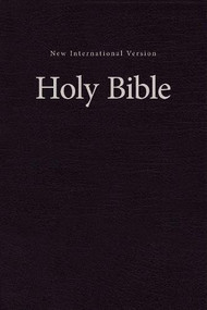 NIV, Pew and Worship Bible, Hardcover, Black, Comfort Print by  Zondervan, 9780310446262