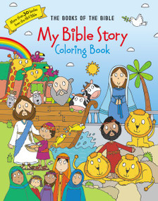 My Bible Story Coloring Book (The Books of the Bible) by  Zondervan, 9780310761068