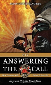 NIV, Answering the Call New Testament with Psalms and Proverbs, Paperback (Help and Hope for Firefighters) (Miniature Edition) by  Fellowship of Christian Firefighters International, 9780310448938