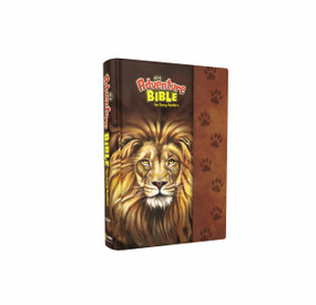 NIrV Adventure Bible for Early Readers, Hardcover, Full Color Interior, Lion by Lawrence O. Richards, 9780310761396