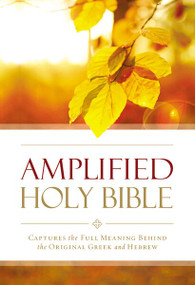Amplified Outreach Bible, Paperback (Capture the Full Meaning Behind the Original Greek and Hebrew) by  Zondervan, 9780310447009