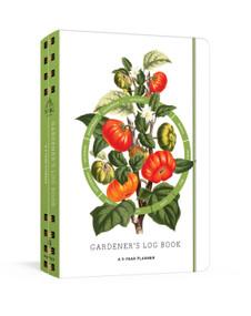Gardener's Log Book (A 5-Year Planner) by The New York Botanical Garden, 9781524759070