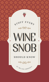 Stuff Every Wine Snob Should Know (Miniature Edition) by Melissa Monosoff, 9781683690191
