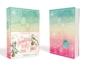 NIV Beautiful Word Bible for Girls, Hardcover, Floral (500 Full-Color Illustrated Verses) by  Zondervan, 9780310761082