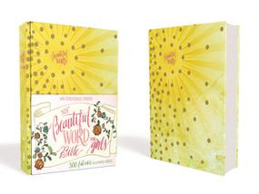 NIV Beautiful Word Bible for Girls, Hardcover, Sunburst (500 Full-Color Illustrated Verses) by  Zondervan, 9780310761266