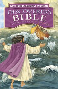 NIV Discoverer's Bible, Large Print, Hardcover by  Zondervan, 9780310764922