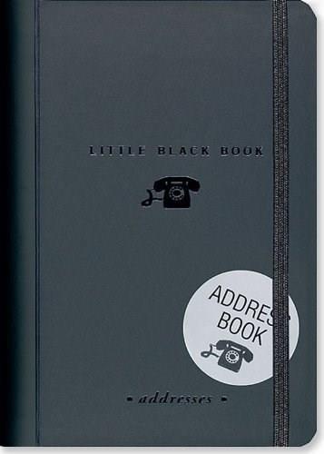 LITTLE BLACK BOOK OF ADDRESSES (Miniature Edition), 9781593593896